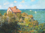 Fisherman's Cottage on the Cliffs at Varengeville, art print