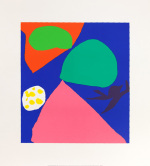 Gouache for St. Ives Window (Silkscreen print) art print