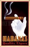 Habanas, Quality Cigars art print