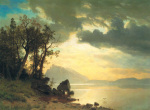 Lake Tahoe, California, 1867 art print