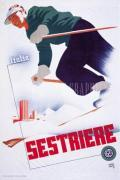 Sestriere art print