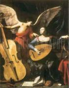 St. Cecilia and the Angel art print