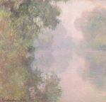 The Seine at Giverny, Morning Mists, 1897 art print