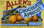 Allen&#39;s Chocolate Apricot giclee art print