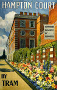 Hampton Court by Tram giclee art print