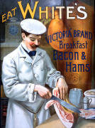 White's Bacon giclee art print