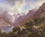 An Alpine Lake, 1867 giclee art print