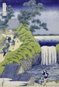 Aoigaoka Waterfall in the Eastern Capital. giclee art print