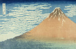 Fine Wind, Clear Morning, From The Series 'Thirty-Six Views Of Mount Fuji' giclee art print
