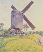 kalf mill  1894 giclee art print