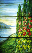 Lake Scene Window giclee art print