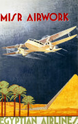 Misr Airwork, Egyptian Airlines giclee art print