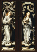 The Annunciation Reverse Of Triptych Wings giclee art print