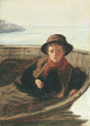 The Fisher Boy, 1870 giclee art print