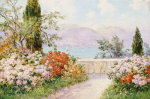 The Gardens Of The Villa Melzi On Lake Como giclee art print