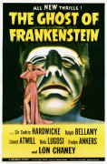 The Ghost Of Frankenstein, 1942, Universal giclee art print