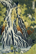 The Kirifuri Waterfall At Mt. Kurokami In Shimotsuke Province giclee art print