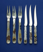Three Forks &amp; Three Knives giclee art print
