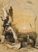 Title Page Of 'South Australia Illustrated', 1846 giclee art print