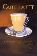 Urban Caffe Latte art print