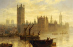 Westminster From The Thames giclee art print