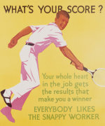 What's Your Score, 1929 giclee art print