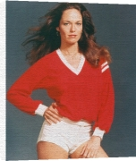 Driving Force And Catherine Bach In A