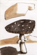 Agaric Drawing giclee art print