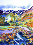 Ashness Bridge near Keswick giclee art print