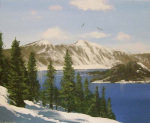 Crater Lake giclee art print