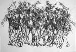 Dancer Sequence giclee art print