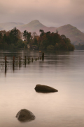 Derwentwater at first light giclee art print