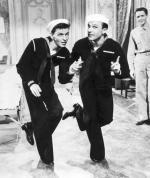 Frank Sinatra and Gene Kelly (Large size) art print