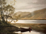 Kylemore Boatman giclee art print