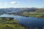 Lake Ullswater Lake District giclee art print