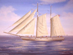 Ship Under Sail giclee art print