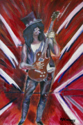 Slash giclee art print