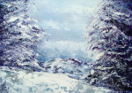Snow Trek giclee art print