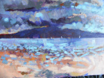 The arran hills giclee art print
