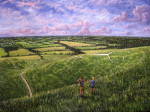View of the Vale giclee art print