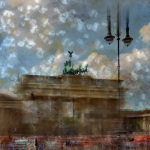 City-Art BERLIN Brandenburger Tor II giclee art print