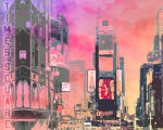 City-Art NY Times Square giclee art print