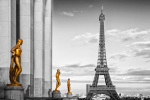 Eiffel Tower PARIS Trocadero II giclee art print