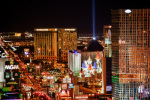 Las Vegas by Night giclee art print