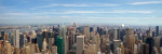 Manhattan - Panoramic View giclee art print