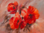 Poppies ll giclee art print