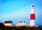Portland Bill Lighthouse giclee art print