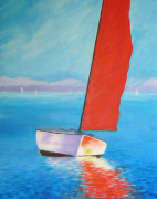 Red Sail giclee art print