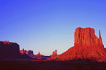 Sunset at Monument Valley giclee art print