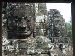 The Faces of Bayon giclee art print